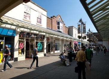 Old George Mall in Salisbury
